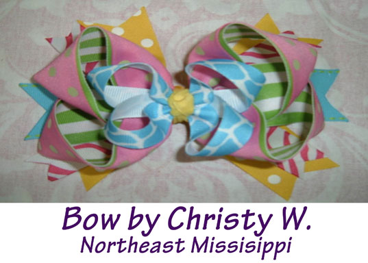 Learn To Make This Lovely Boutique Hair Bow